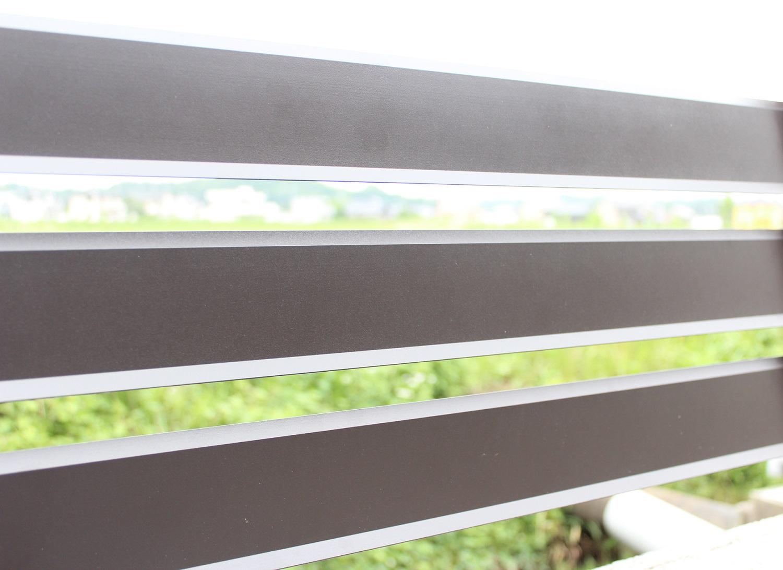 アルミ製目隠しフェンス