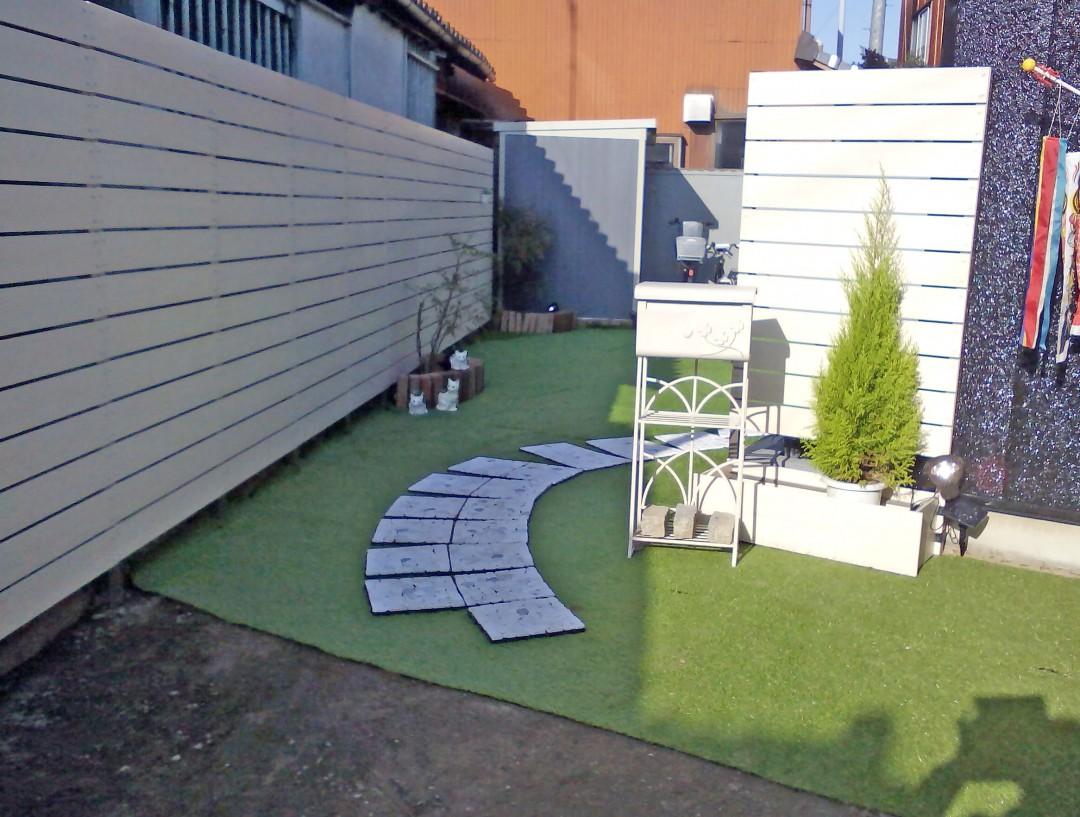 ガーデンライフ彩のフェンスで素敵になったお庭