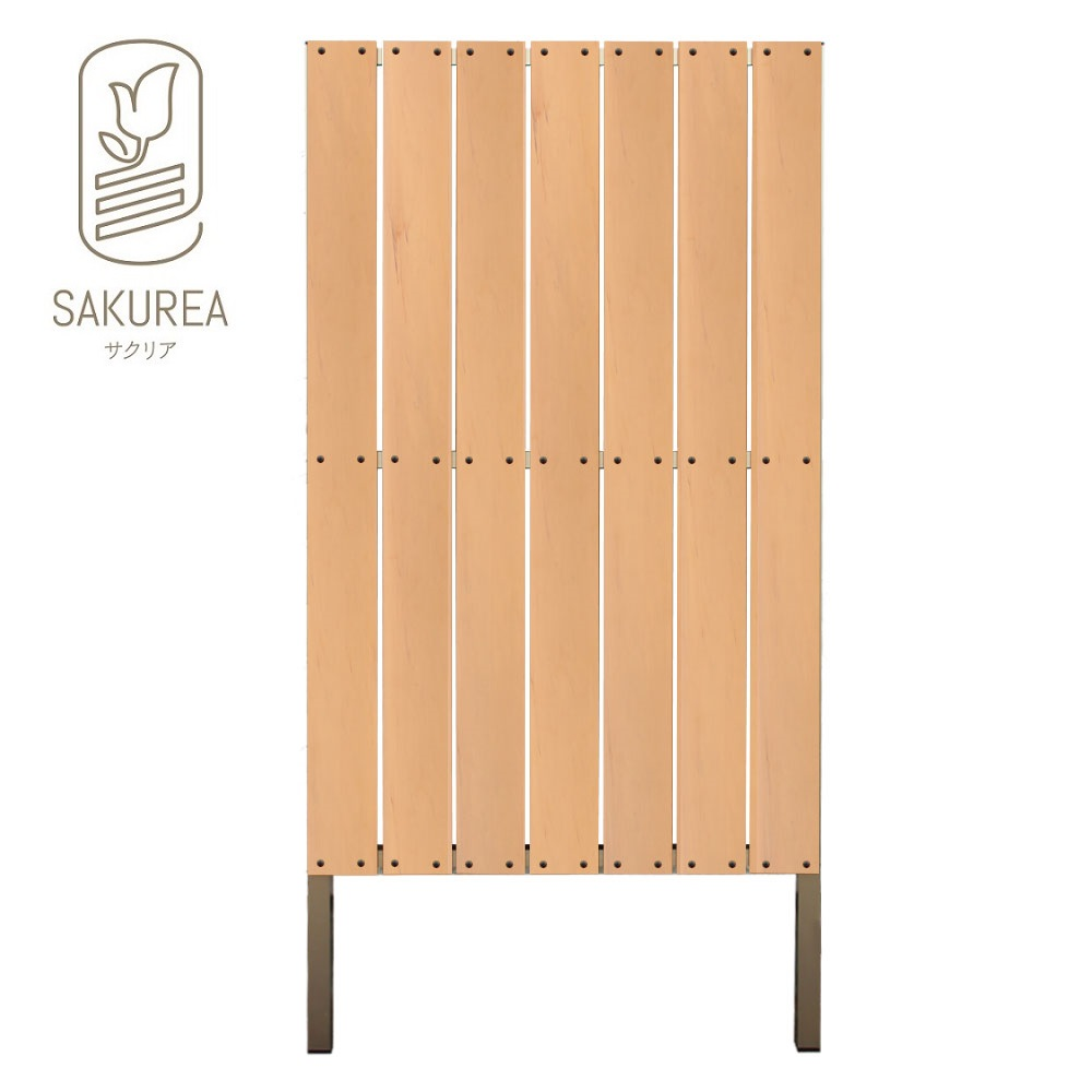 DIYコンフォートフェンス ストライプ板間隔1cm高さ180cm
