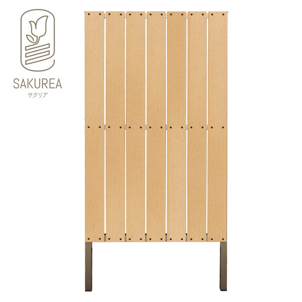 DIYコンフォートフェンス ストライプ板間隔1cm サンディング高さ180cm