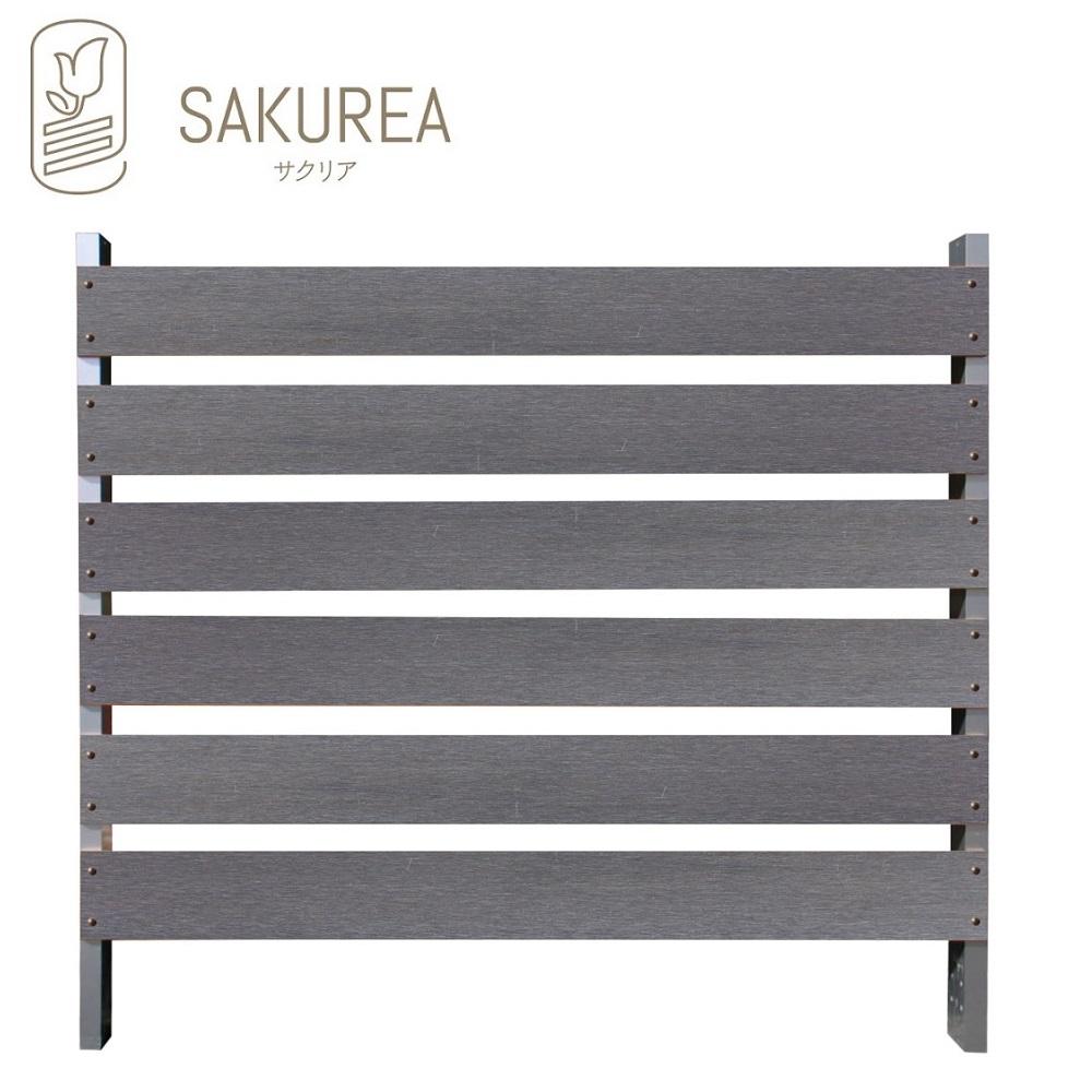 ブロック用フェンス ボーダー板間隔3cm高さ110cm幅120cm表面仕上げスクラッチ