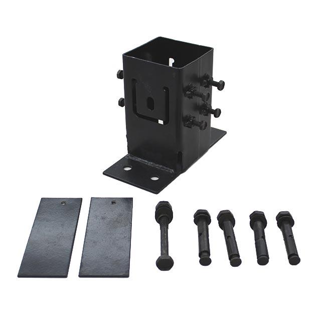 ウッディプラフェンス (ラティス)用支柱専用 コンクリート用ベースプレート
