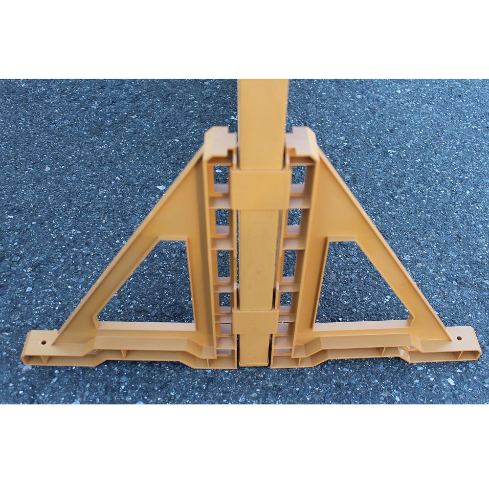 ウッディプラフェンス (ラティス)専用三角スタンド両面