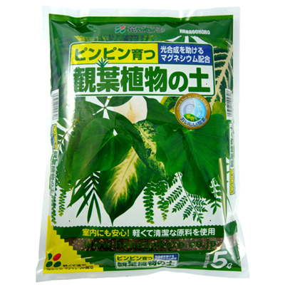 培養土 観葉植物の土 5L