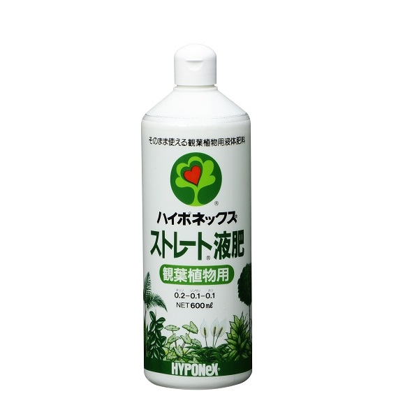 ストレート液肥観葉植物用 600ml
