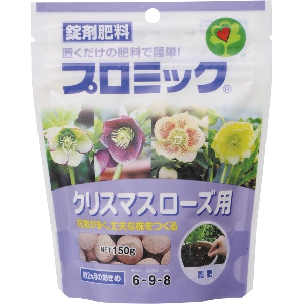 肥料・粒状・固型・粉末 プロミック錠剤クリマスローズ用 150g