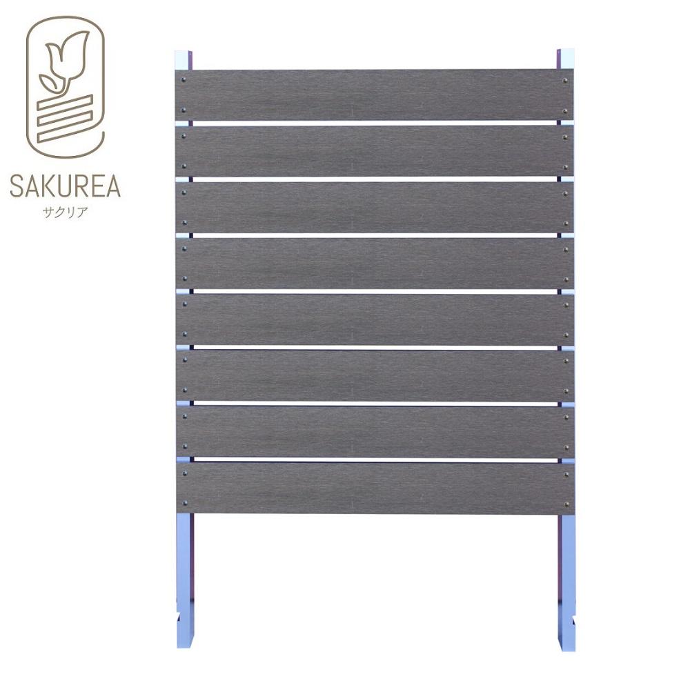 ブロック用フェンス ボーダー板間隔1cm高さ140cm幅90cm サンディング