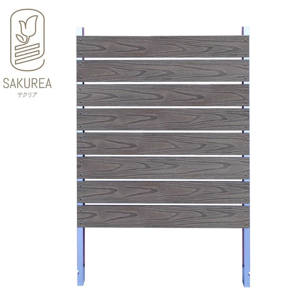 ブロック用フェンス ボーダー板間隔1cm高さ140cm幅90cm エンボス