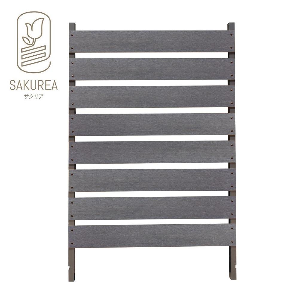 ブロック用フェンス ボーダー板間隔3cm高さ140cm幅90cm サンディング