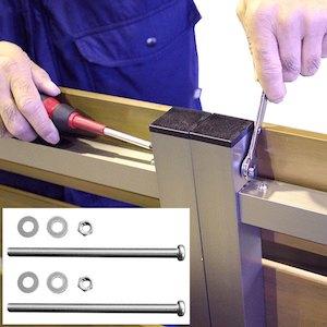 連結ボルトセットの使い方